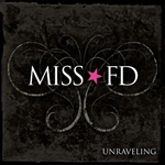 MissFD - Unraveling Goth Rock Single Cover Artwork