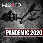 Miss FD - Pandemic 2020 - Industrial Music - Cover Artwork