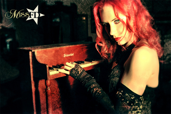 Miss FD - Monsters in the Industry Promo- Female Gothic Musician